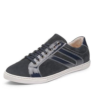 Evita Shoes Herren Sneaker, blau (43)