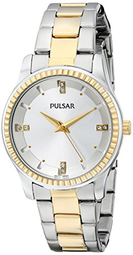 Pulsar Three-Hand Stainless Steel - Two-Tone Women's watch #PH8100