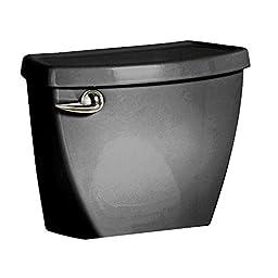 American Standard 4021001N.178 Cadet 3 1.6 GPF  12-Inch Rough Toilet Tank Only, Black