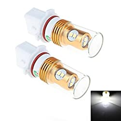 See 2Pcs P13W 8W 8x Samsung 2323 SMD 450LM 6000K White Light LED for Car Turn Steering / Reversing Lamp (DC 12-24V) Details