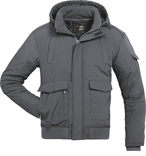 brandit-halifax-jacke-zip-windbreaker-anthrazit-l
