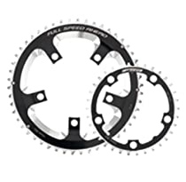 FSA Super Road 36 -Tooth/10-Speed Chainring (110mm, Black)