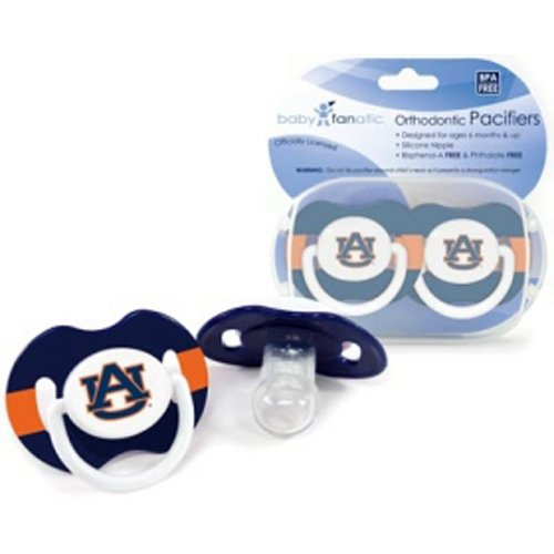 Auburn Tigers Ncaa Baby Pacifiers at Amazon.com