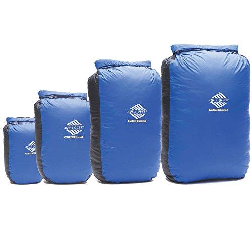 4 Piece Aqua-Quest 100% Waterproof Drybag Combo Pack - 5L, 10L, 20L & 30L 'Glacier' Models (Aqua Quest 20l compare prices)