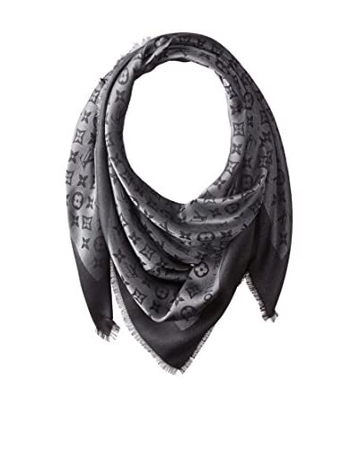 Louis Vuitton Women's Logo Scarf, Black