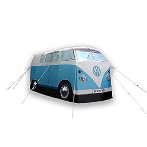 Exact Scale Replica VOLKSWAGEN VW Camper Van Tent in Blue - Sleeps 4 Ideal for your Summer Festival