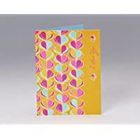 Shower of Hearts Romantic Card