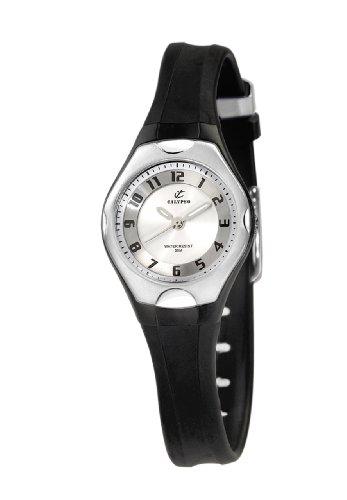 Calypso Women's K5163/2 Plastico Silver Dial Watch