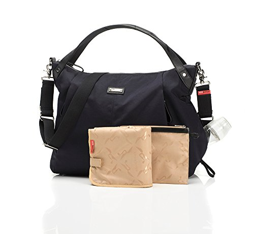 Storksak Catherine Luxe Nylon Diaper Bag - Navy - 1
