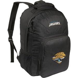 NFL Jacksonville Jaguars Southpaw Backpack, Black, Medium by Concept 1