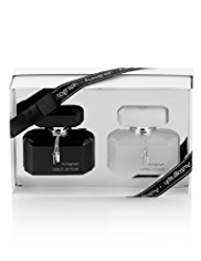 Autograph White Wood & Black Amber Gift Set