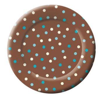 Aqua Dots 8-inch Plates