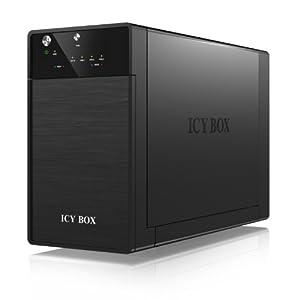 Icy Box IB-3620U3 External 2 Bay JBOD System for 3.5 inch SATA I/II/III HDD