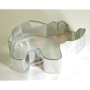 Elephant Metal Cookie Cutter 3""