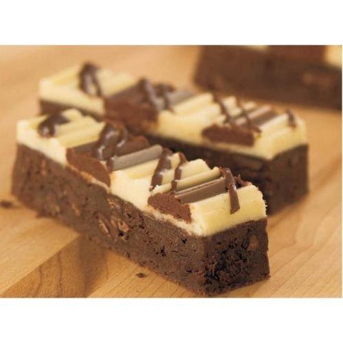 The Original Cakerie Triple Chocolate Chunk Brownie Dessert Bar -- 2 per case. (Nanaimo Bars compare prices)