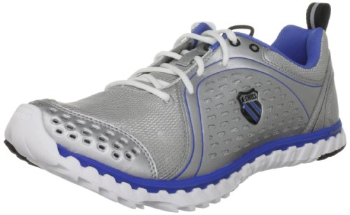 K-Swiss Men's Blade Foot Run M Silver/White/Strongblue Trainer 02787-016-M 10 UK