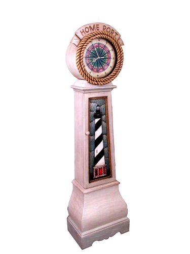 Lighthouse Floor Clock
