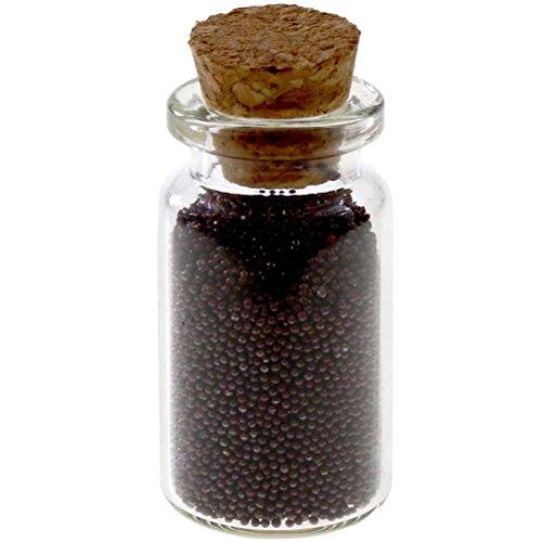 Perle Microbilles en Verre (Aubergine) Moins de 1 mm de diamètre