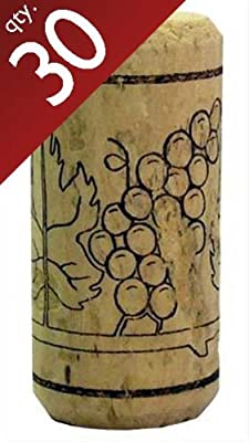 "# 7 Straight corks 13/16"" x 1 3/4"" Bag of 30"