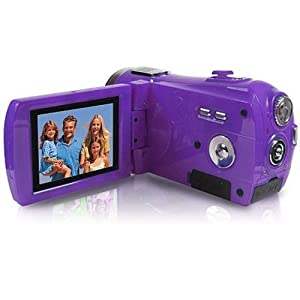 Vivitar Digital Video Camera (DVR810HD-GRAPE-OM)
