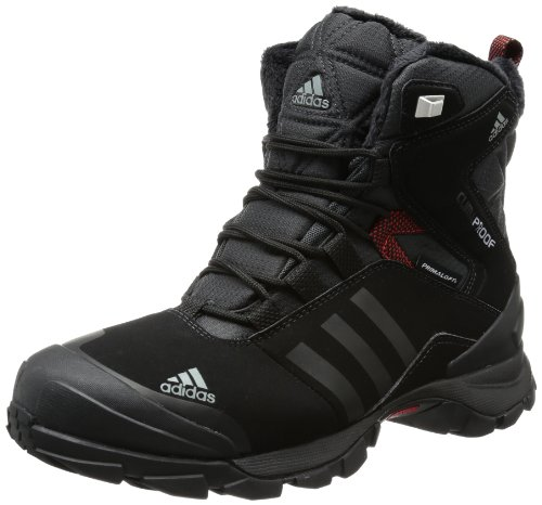 adidas Performance WINTER HIKER SPEED CP PL V22179 Herren Trekking- & Wanderschuhe, Schwarz (BLACK 1 / BLACK 1 / CORE ENERGY S12), 42 2/3