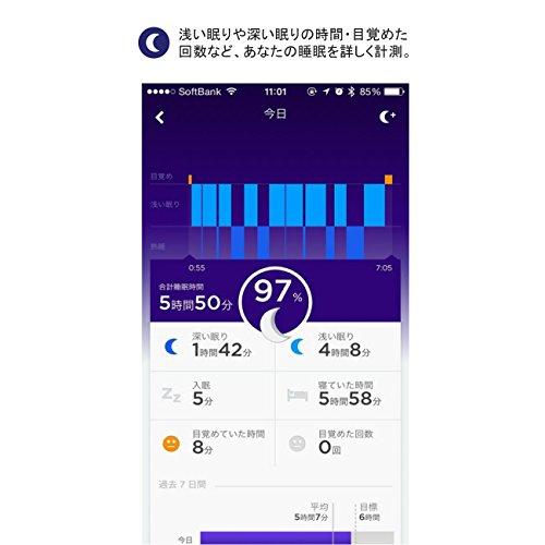 【日本正規代理店品】Jawbone UP2 ワイヤレス活動量計バンド《睡眠+運動+食事測定》 バイオレットサークル  JL03-0453AEF-JP