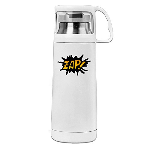 Beauty Zap Tattoo Drink Bottle With A Handle Vacuum Insulated Cup For Hot And Cold Drinks Coffee,Tea Travel Thermal Mug,14oz White (Dirt Evil Vacuum Cleaner compare prices)