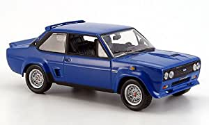 Amazon.com: Fiat 131 Abarth, blue, 1976, Model Car, Ready-made, Norev