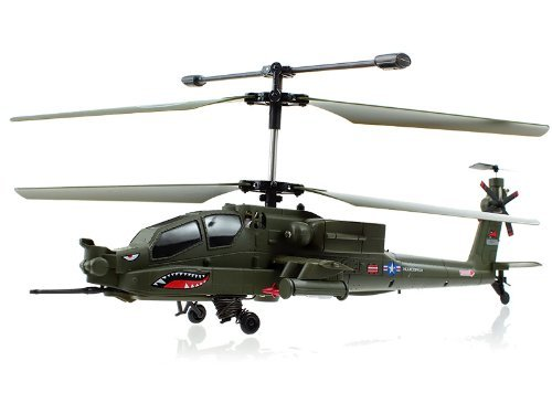 Syma S113G Apache Military Coaxial RC Helicopter w/ Gyro