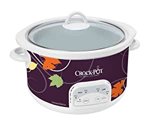 Crock-Pot SCCPRP500-LTD 5-Quart Round Programmable Slow Cooker, Limited Edition Pattern