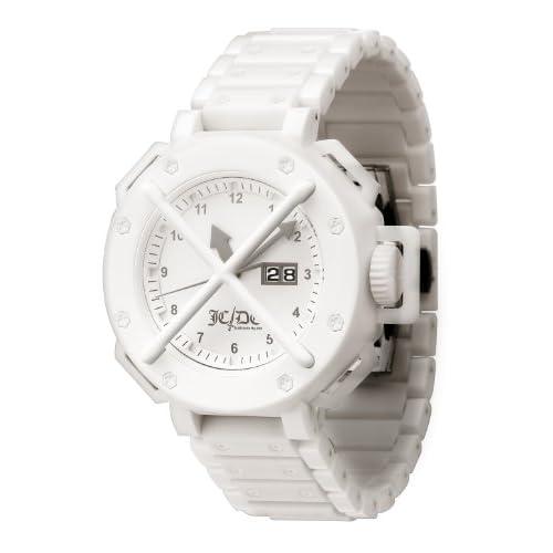 [オーディーエム]o.d.m 腕時計 カステルバジャックコラボモデル Time Track (タイムトラック) アナログ表示 ホワイト TT01-2 【正規輸入品】