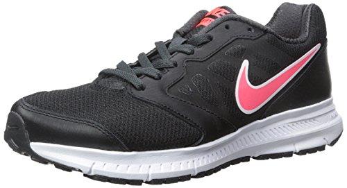 Nike Wmns Downshifter 6 Scarpe da ginnastica, Donna, Negro - Schwarz (Black/Hyper Punch-Anthracite 002), 37.5 EU