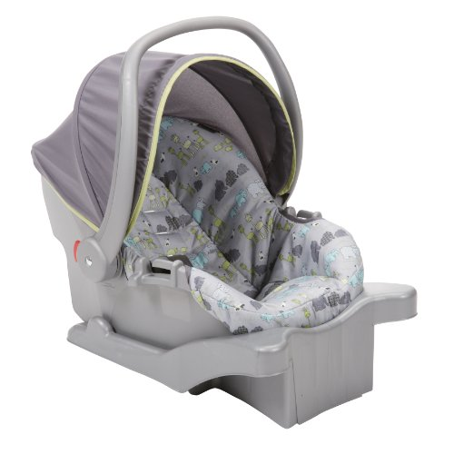 child seat cosco juvenile comfy carry infant seat jungle parade ii car child seats. Black Bedroom Furniture Sets. Home Design Ideas