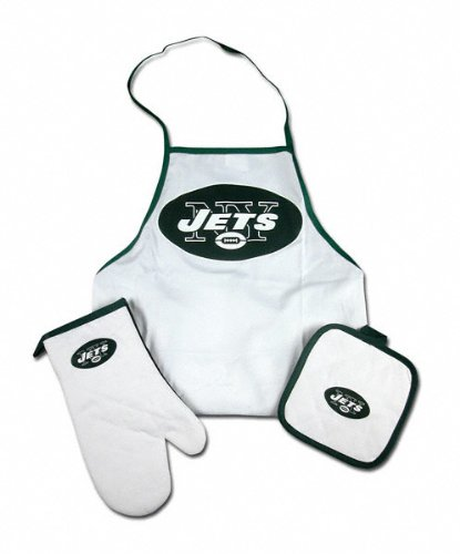 New York Jets Tailgate &amp; Kitchen Grill Combo Set at Amazon.com