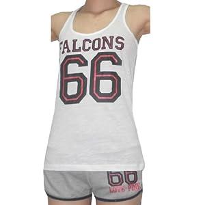 2 PCS: NFL Atlanta Falcons #66 Ladies Pink Victoria