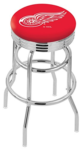 "NHL Detroit Red Wings 30"" Bar Stool"