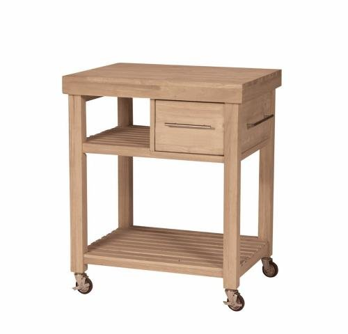 Cheap International Work Center Kitchen Cart (WC-3)