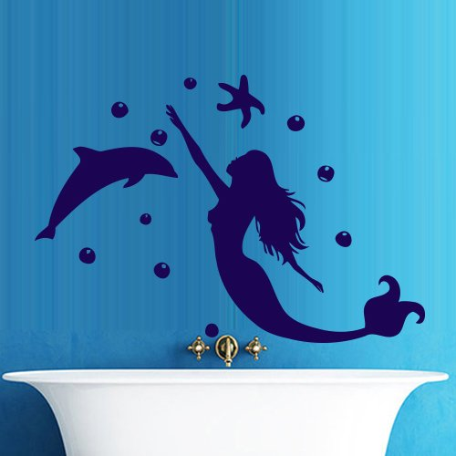 Funky d 233 cor with mermaid wall decals funk this house funk this house
