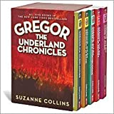 The Underland Chronicles Complete Boxed Set, Books 1-5: Gregor the Overlander, Gregor and the Prophecy of Bane, Gregor and the Curse of the Warmbloods, Gregor and the Marks of Secret, and Gregor and the Code of Claw