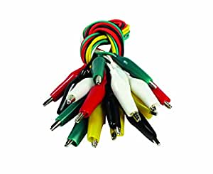 SE TL10 10-Piece Test Lead Set with Alligator Clips