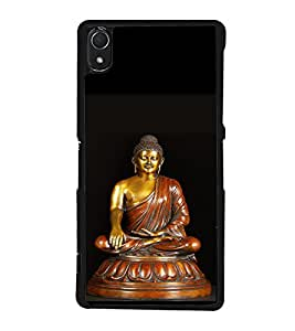 printtech Lord Buddha Back Case Cover for Sony Xperia Z3 , Sony Xperia Z3 D6653 D6603