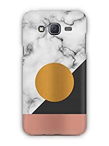 Cover Affair Marble Printed Back Cover Case for Samsung Galaxy J5 (2016)
