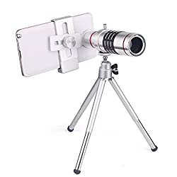 Mobilegear Universal 18X Optical Zoom Telescope Mobile Camera Lens Kit with Tripod for All Smartphones