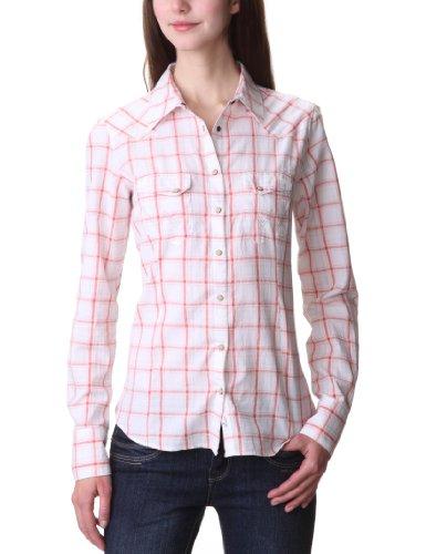 Wrangler Sammy Long Sleeve Shirt - White