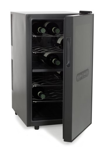 Amstyle Weinkühlschrank Mini-Kühlschrank Zweizonen thumbnail