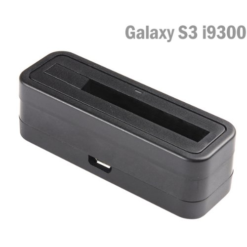 Sheenroad Mini Battery Charger Cradle Charging Dock For Samsung Galaxy S Iii S3 I9300