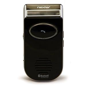 Nextar NXBT-002 Solar Powered Bluetooth Cellular Hands Free Kit