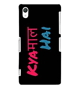 Kya Kaam Hai Cute Fashion 3D Hard Polycarbonate Designer Back Case Cover for Sony Xperia Z2