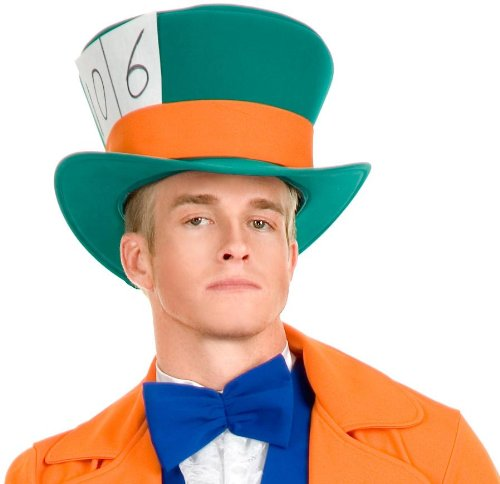 Charades Costumes Men's Mad Hatter Adult Hat