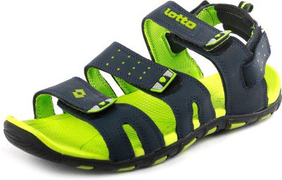 Lotto Men's Sandal Slide Navy Green GT7065 UK/IN P